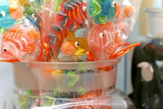 Boys Under the Sea Candy Ideas