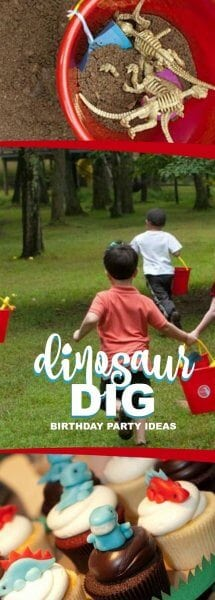 Dinosaur Dig Birthday Party Ideas