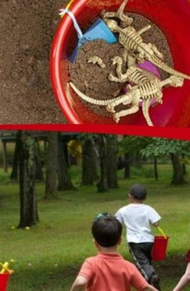 Dinosaur Dig Birthday Party Ideas