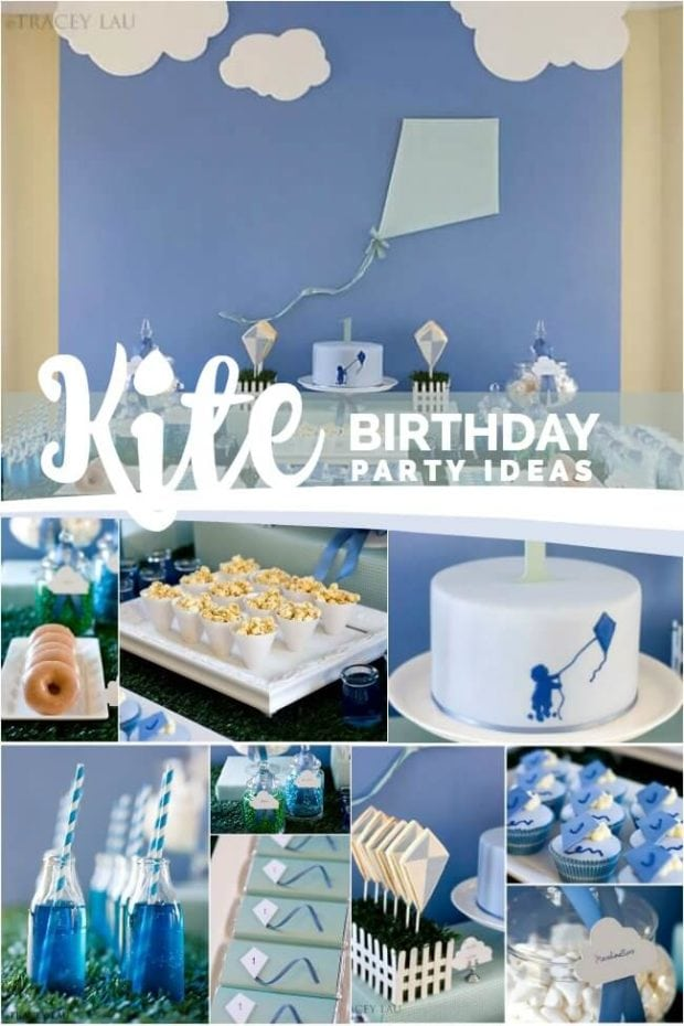 Kite Themed Birthday Party