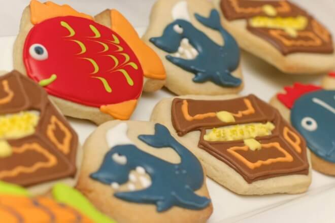 Under the Sea Boys Birthday Party Food Cookie Ideas