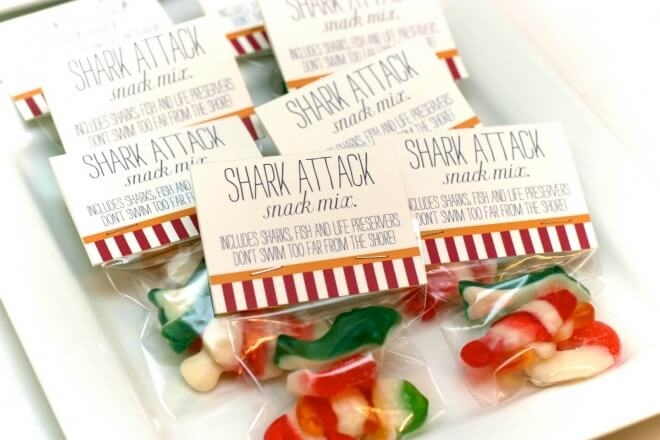 Under the Sea Snack Mix Party Favor
