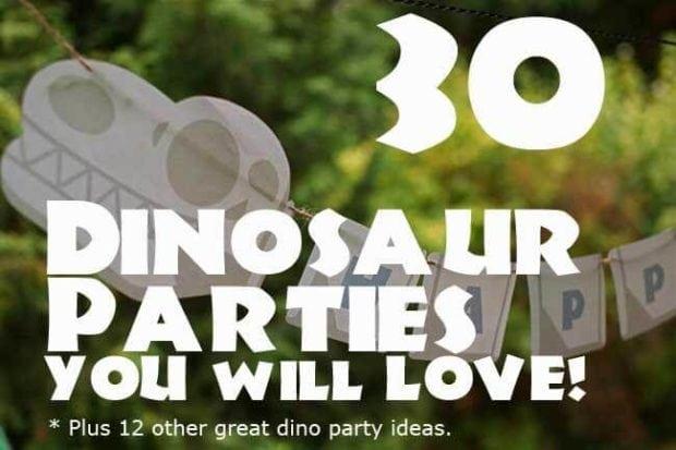 http://spaceshipsandlaserbeams.com/blog/party-central/30-dinosaur-birthday-parties-you-will-love