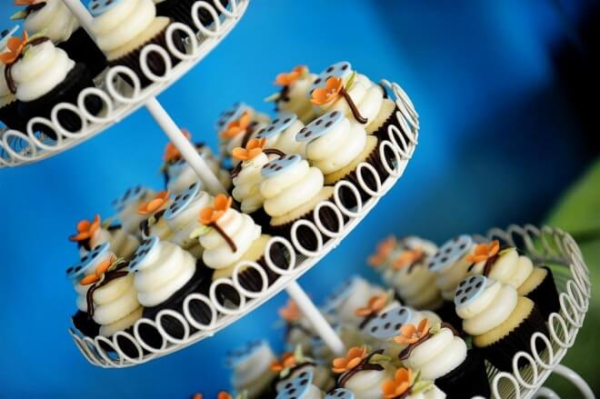 Boys Baptism Party Food Cupcake Ideas