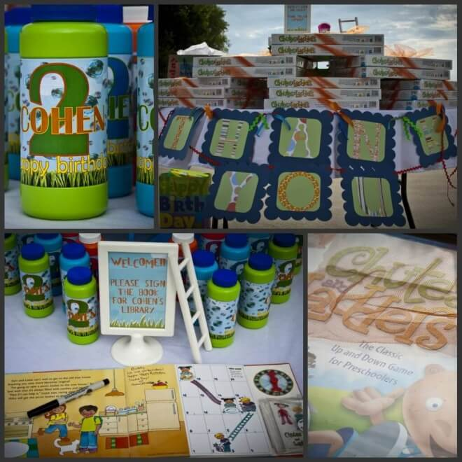 Boys Chutes and Ladders Party Favors