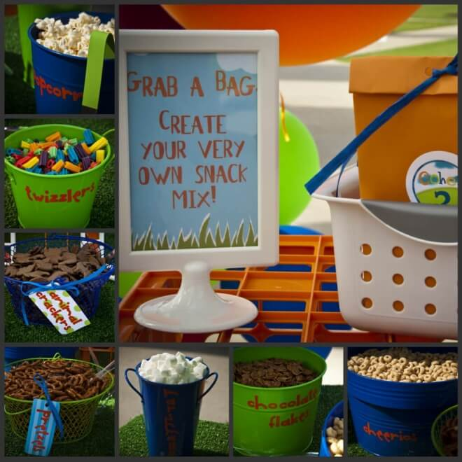 Boys Chutes and Ladders Party Food Ideas