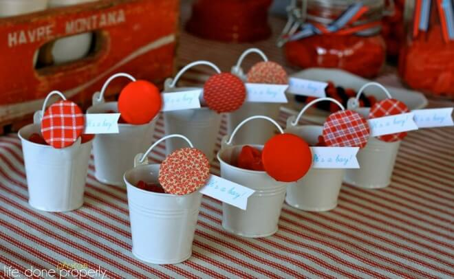 Boys Nautical Baby Shower Party Favor Ideas