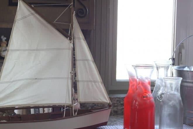 Boys Nautical Baby Shower boat decoration ideas