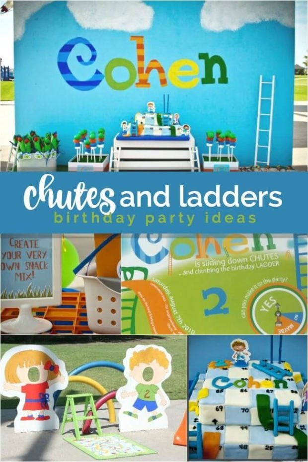 Chutes and Ladders Birthday Party