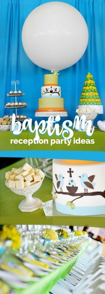Baptism Reception ideas