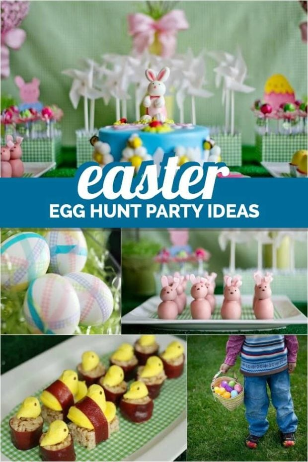 Charming Easter Egg Hunt Party Ideas