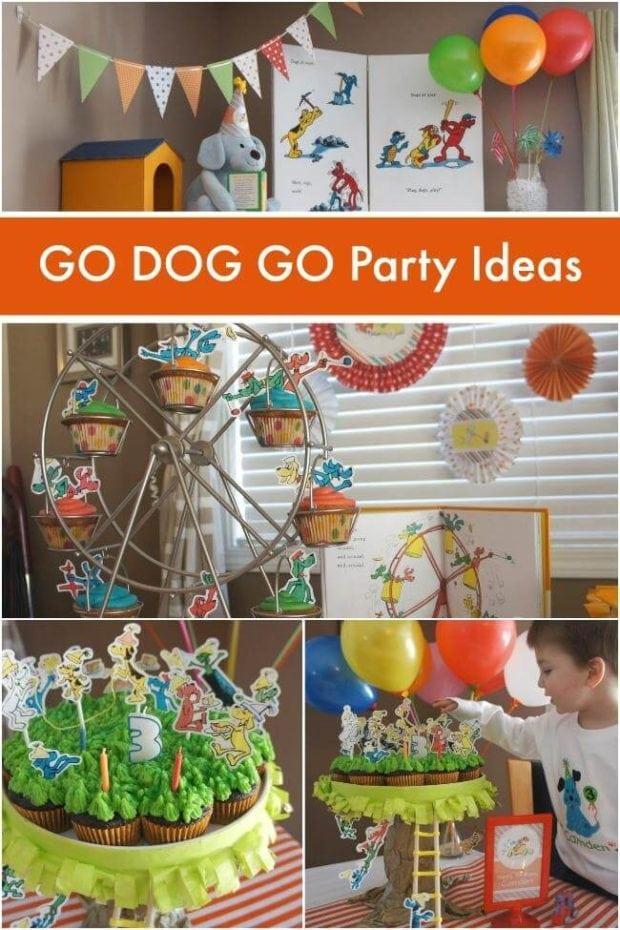 Go Dog Go Birthday Party Ideas
