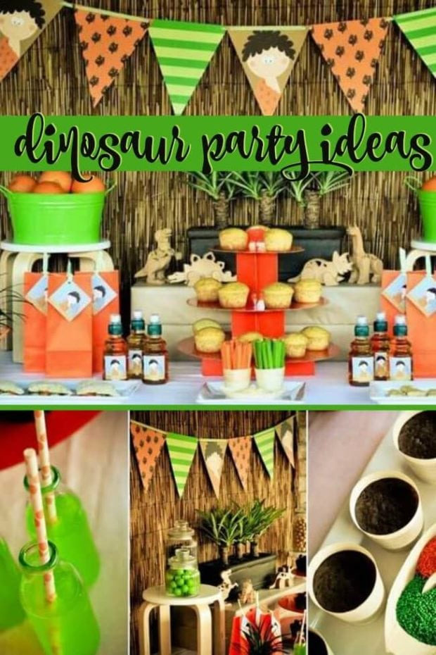 Cool Dinosaur Birthday Party ideas