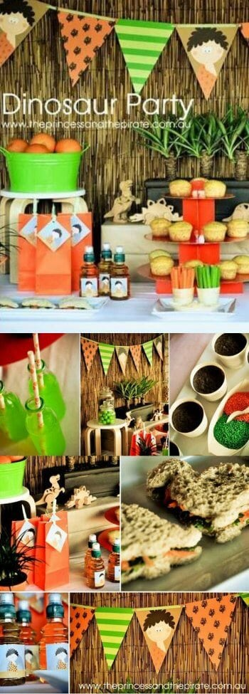 Cool Dinosaur Birthday Party ideas