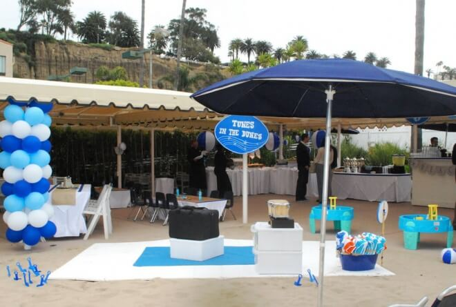 Boys Beach Birthday Themed Party Decorations