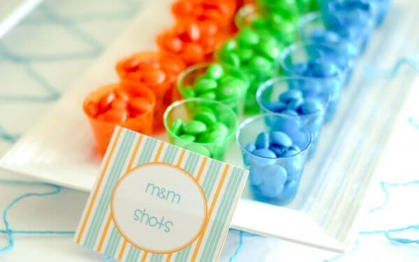 Boys Summer Surf Beach Party Candy Ideas