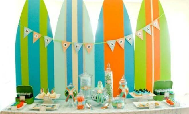 Boys Summer Surf Party