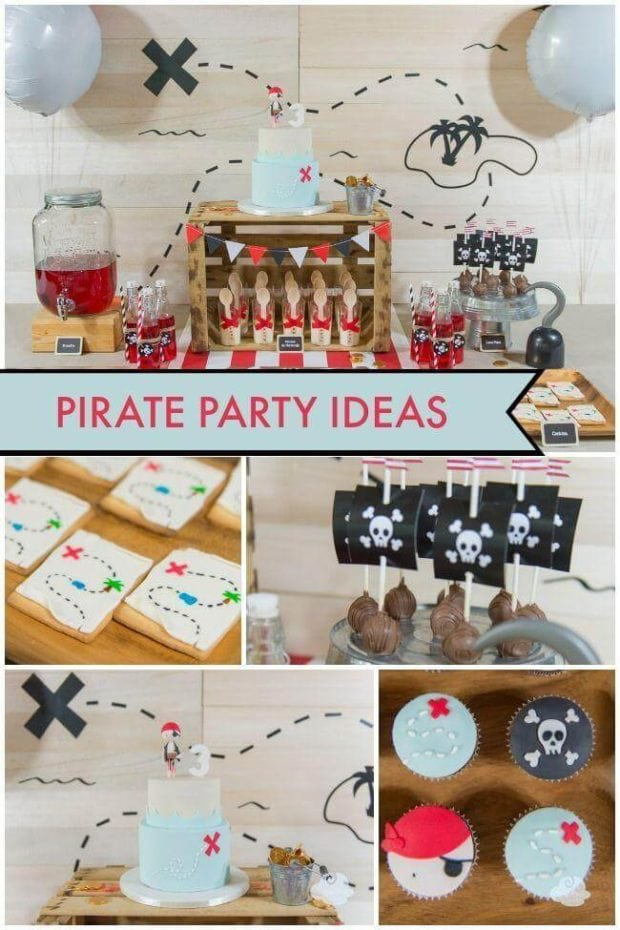 A Boy's Pirate Birthday Party