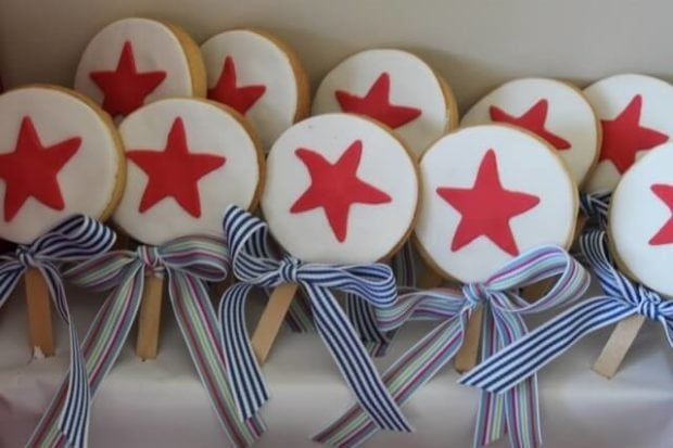 Boys Dr Seuss Birthday Party Food cookie ideas