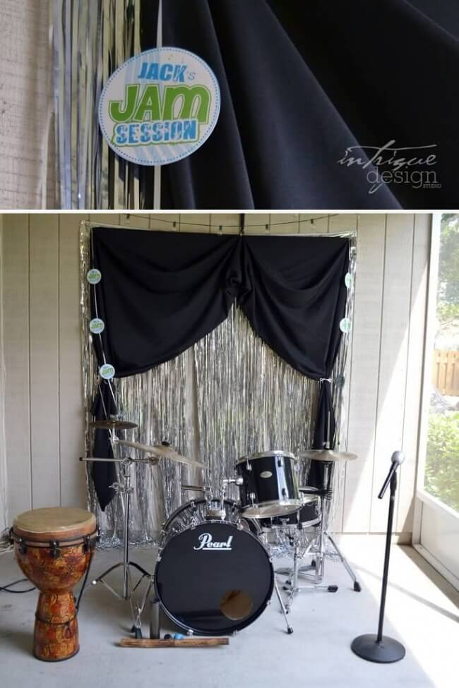 Boys Music Themed Jam Session Birthday Party Activities