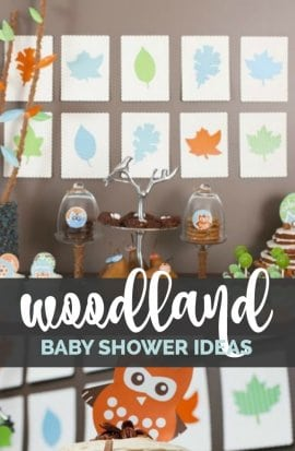 Woodland Buddies Baby Shower