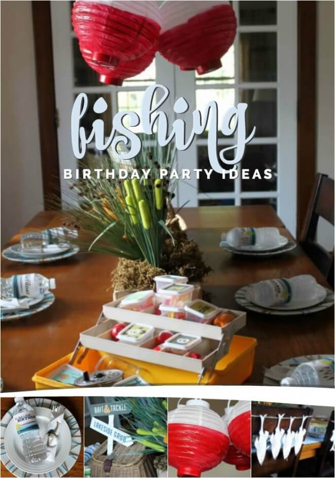 Boys Vintage Fishing Birthday Party