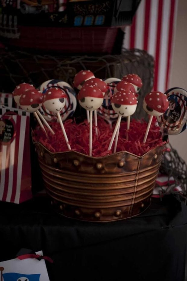 A Pirate Party Dessert Table Spaceships And Laser Beams