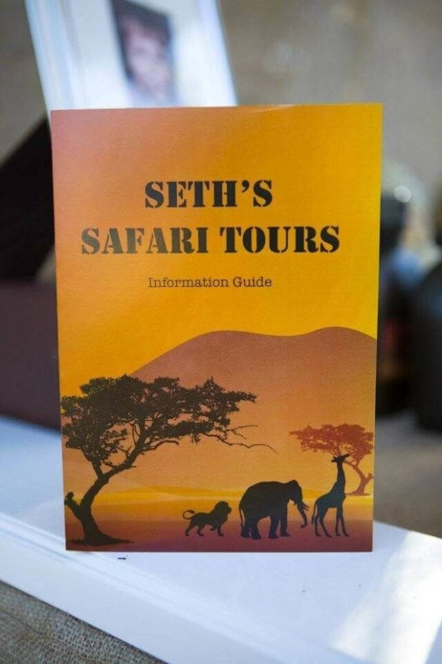 Boys Safari Themed Birthday Party Safari Guide