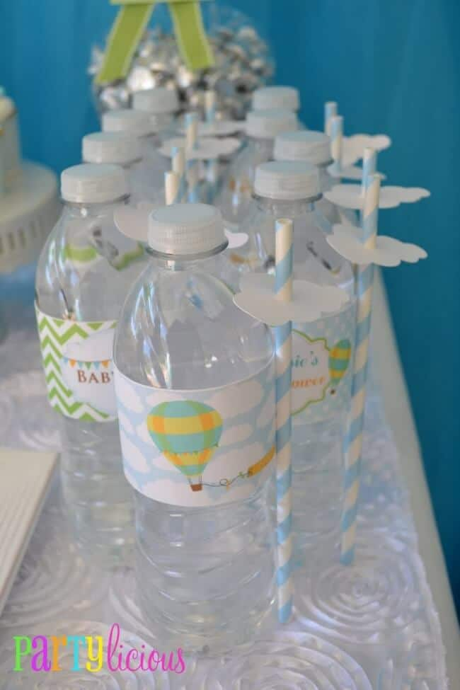 Hot Air Balloon Themed Party Drink Ideas