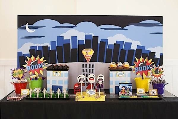 41 Superhero Birthday Party Supplies, Games, Decorations and