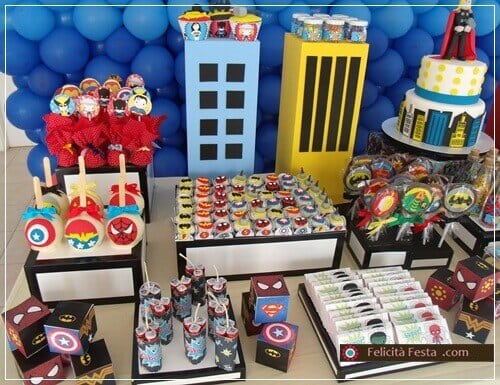 41 Amazing Superhero Birthday Parties Spaceships and Laser Beams