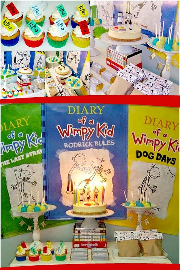 Diary Of A Wimpy Kid Themed Party Ideas