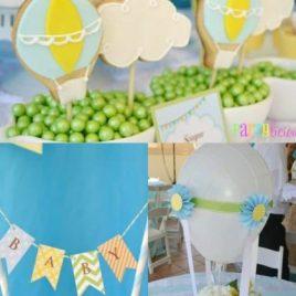 Hot Air Balloon Birthday Party Ideas
