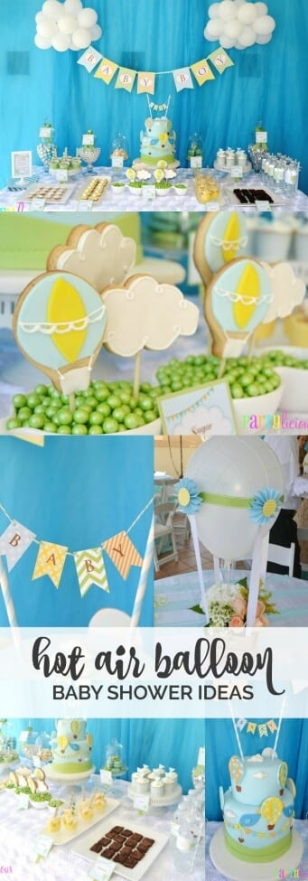 Hot Air Balloon Birthday Party Ideas
