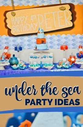 Under the Sea Boys Birthday Party