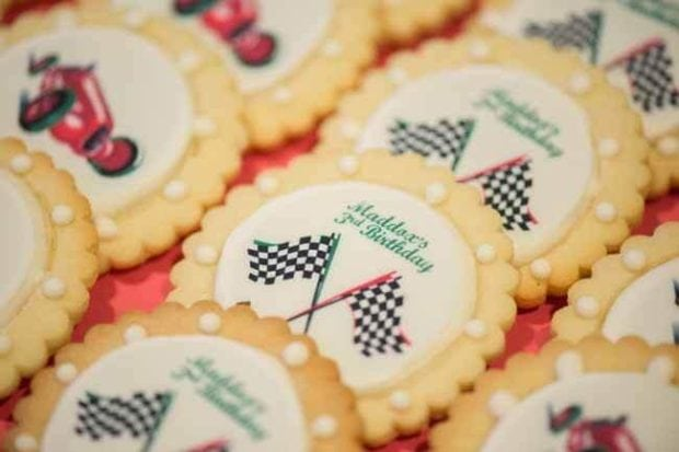 Vintage Race Car Boy Birthday Party Ideas Cookie Ideas