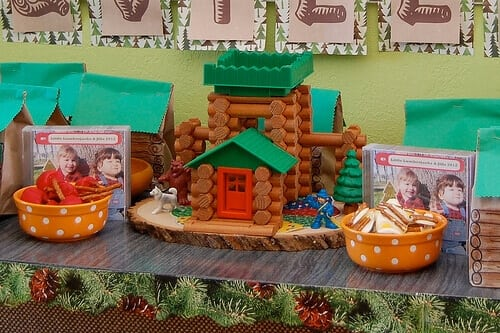 Lumberjack Themed Birthday Party