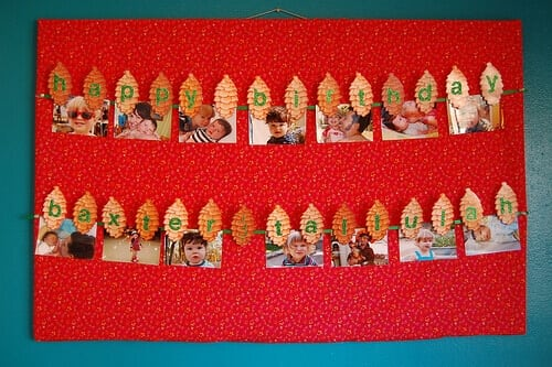 lumberjack-themed-birthday-party-banner-ideas