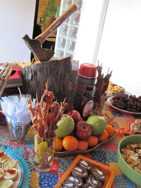 lumberjack-themed-birthday-party-food-ideas
