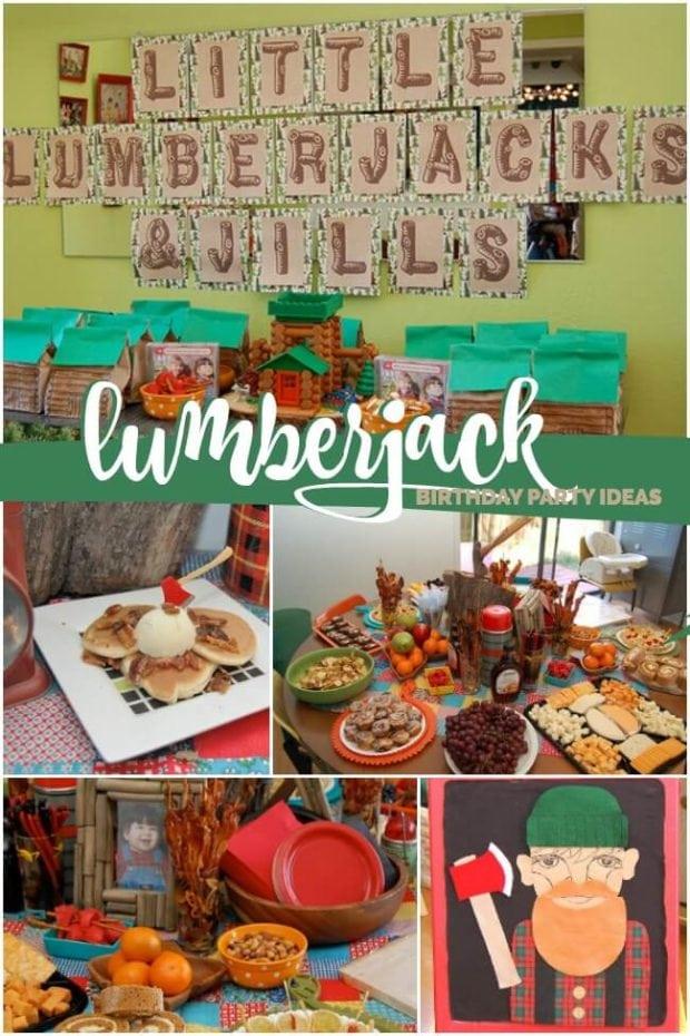 Lumberjack and Jill Birthday Party