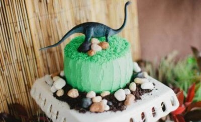 Dinosaur Birthday Party Cakes