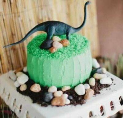 Dinosaur Birthday Party Cakes