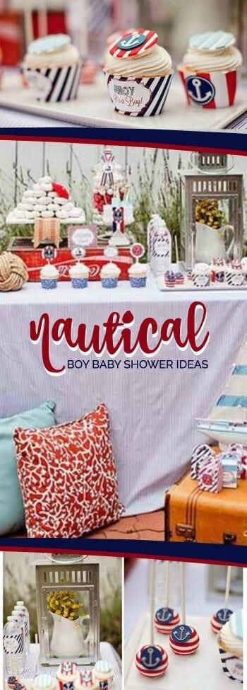 Nautical Boy Baby Shower