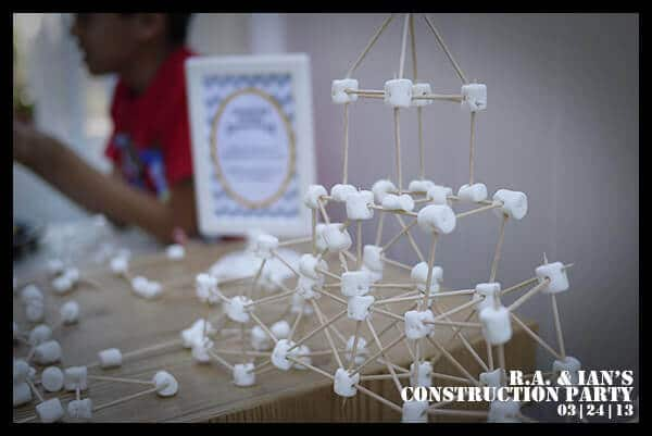 Boys Construction Themed Party Game Activities