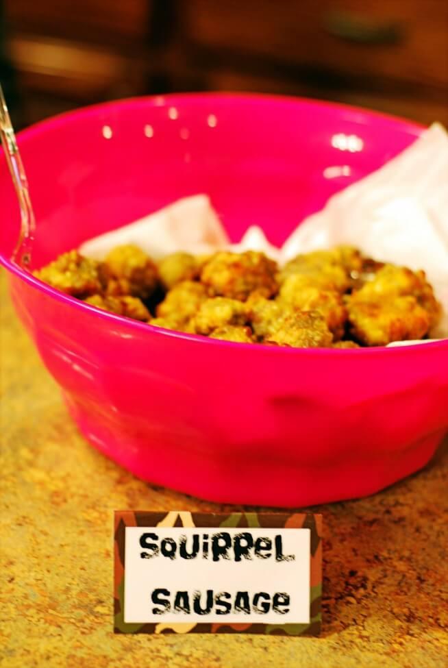 Duck Dynasty Squirel sausage balls