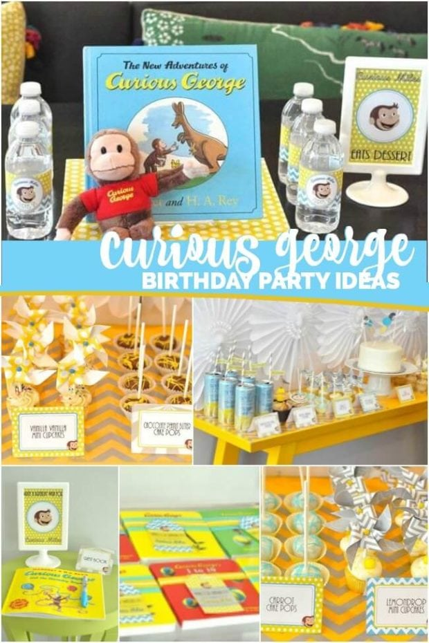 You'll love this Curious George Birthday Party showcased by Spaceships and Laser Beams