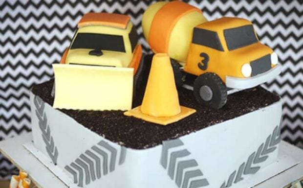 Incredible Cool Construction Truck Birthday Party Ideas Spaceships And Birthday Cards Printable Benkemecafe Filternl