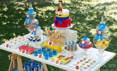 Pinnochio Themed Birthday Party