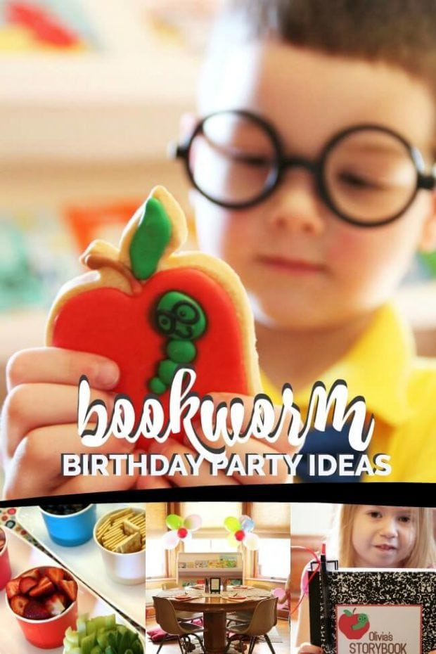 Bookworm Birthday Party
