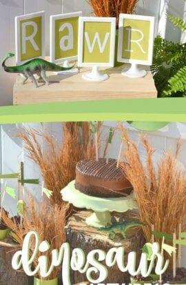 Dinosaur Birthday Party Ideas for Boys